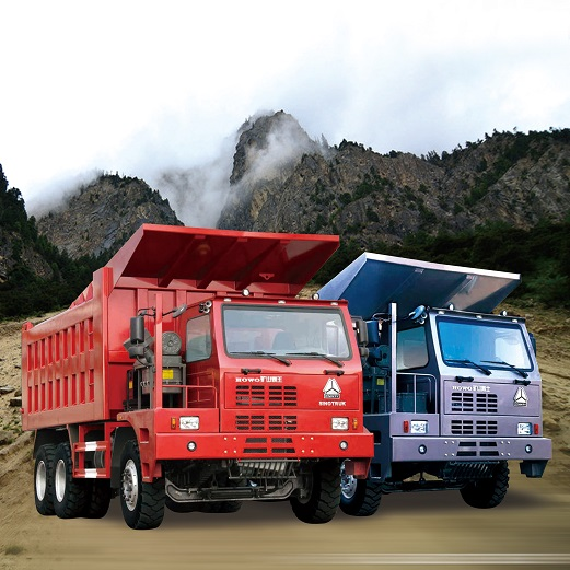 HOWO Mine Purpose Dump Truck